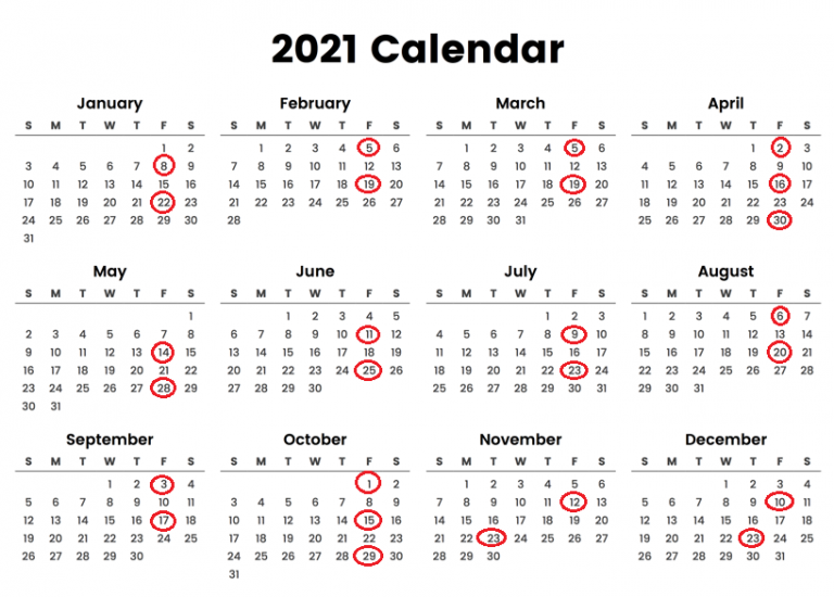 Chipotle Pay Schedule Calendar 2021