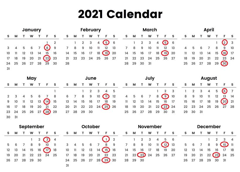 GameStop Pay Schedule Calendar 2021