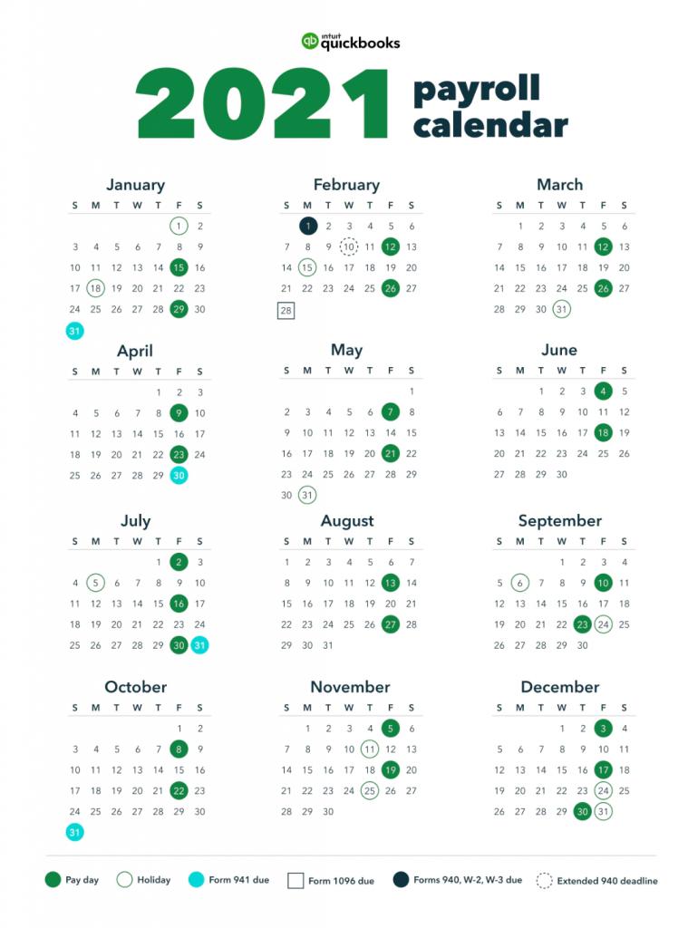 Burger King Pay Schedule Calendar 2021
