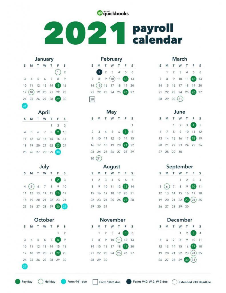 Menards Pay Schedule Calendar 2021